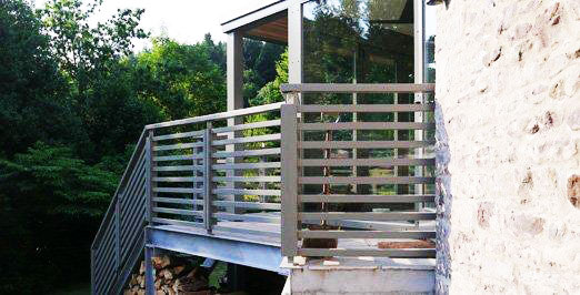 private wooden extension project